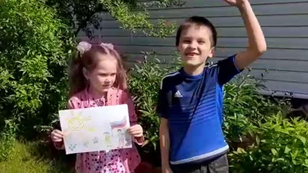 Золотухина Полина 5 лет Золотухин Егор 8 лет